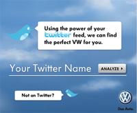 Case study: Volkswagen Twitter Banner