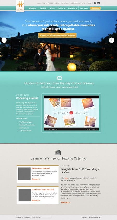 Search case study: Hizon's Catering boosts sales 50% with
