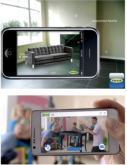 digital marketing case study ikea augmented reality catalogue