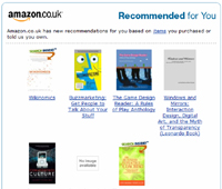Email marketing case study: Amazon