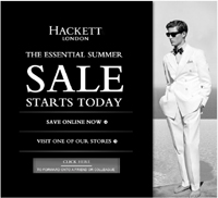 Email marketing case study: Hackett
