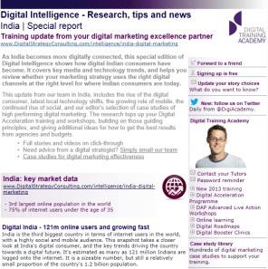 Digital Intelligence India special report