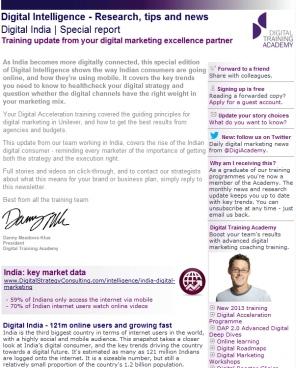 Digital Strategy data - Digital India February 2013