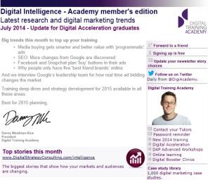 Digital Strategy data - Digital Intelligence June 2014