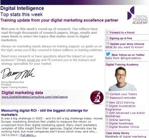 Digital Intelligence - Top stats 22/11/2013