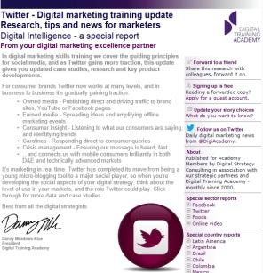 Digital Strategy data - Digital Intelligence Twitter special edition