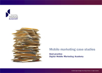 mobile marketing case studies and best practice